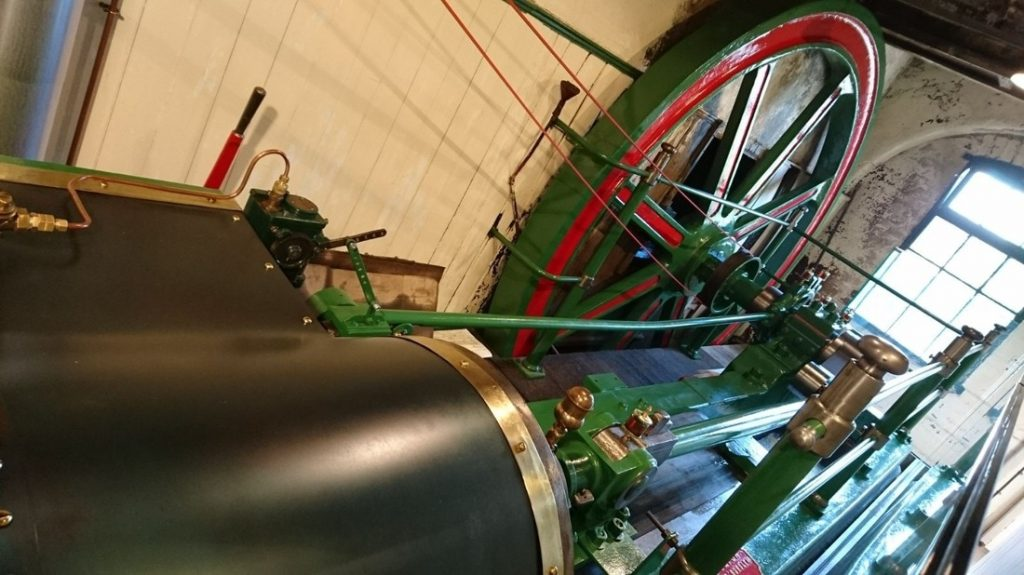 The William Burton Steam engine.