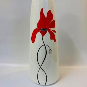 Poppies vase