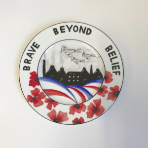 Brave beyond belief plaque