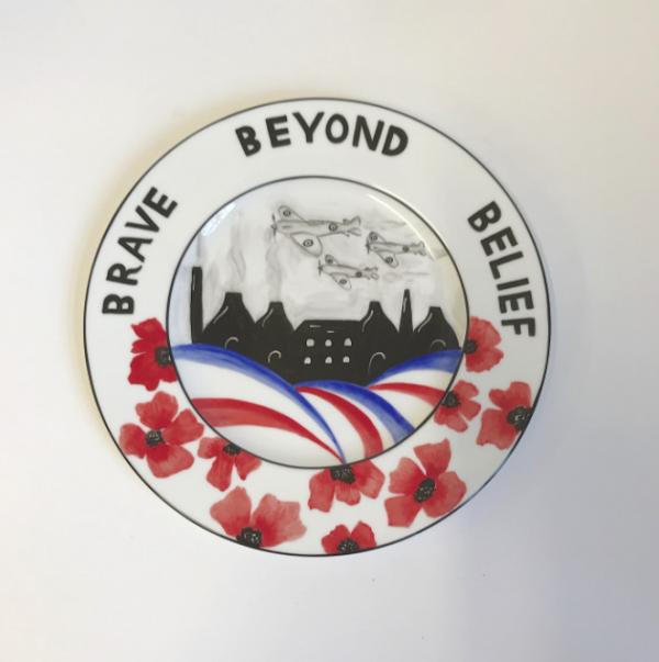Brave beyond belief plaque