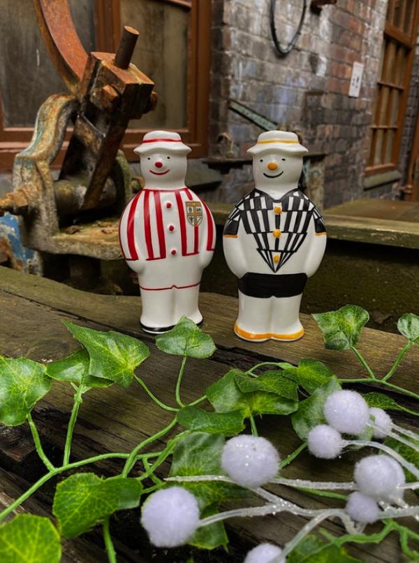 Football Themed Snowman
