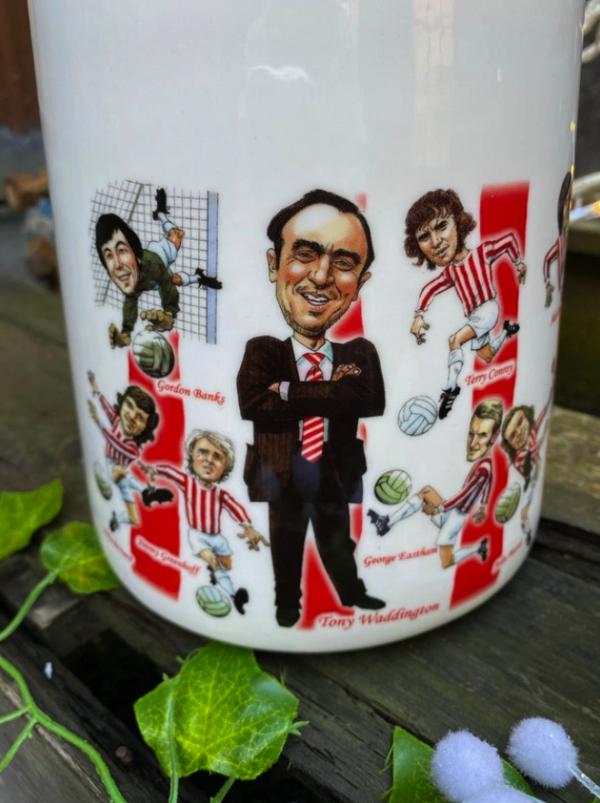 Stoke City 1972 Vase