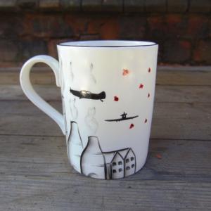 Potteries, poppies and spitfire mug no 3