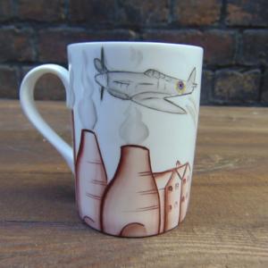 Potteries & Spitfire mug