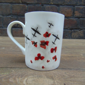 Poppies fleet mug