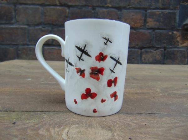 Poppies fleet mug