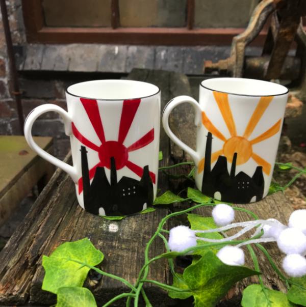 Rising up mug