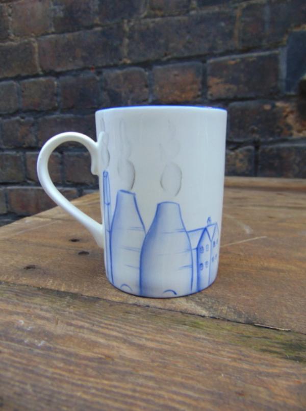 Potteries scenes mug