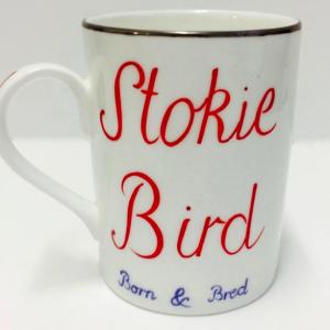 Stokie bird mug