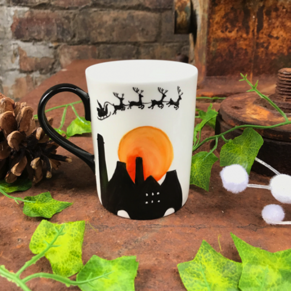 A Stokie Christmas mug