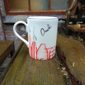 Stoke dad mug
