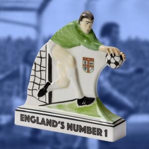 Limited edition Gordon Banks figurine